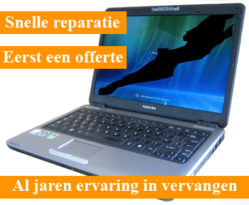 Beste LCD/TFT laptop scherm kapot? - Strepen, barst of gebroken? Wij OG-98